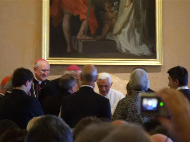 Imagen del Encuentro con el Papa Benedicto XVI